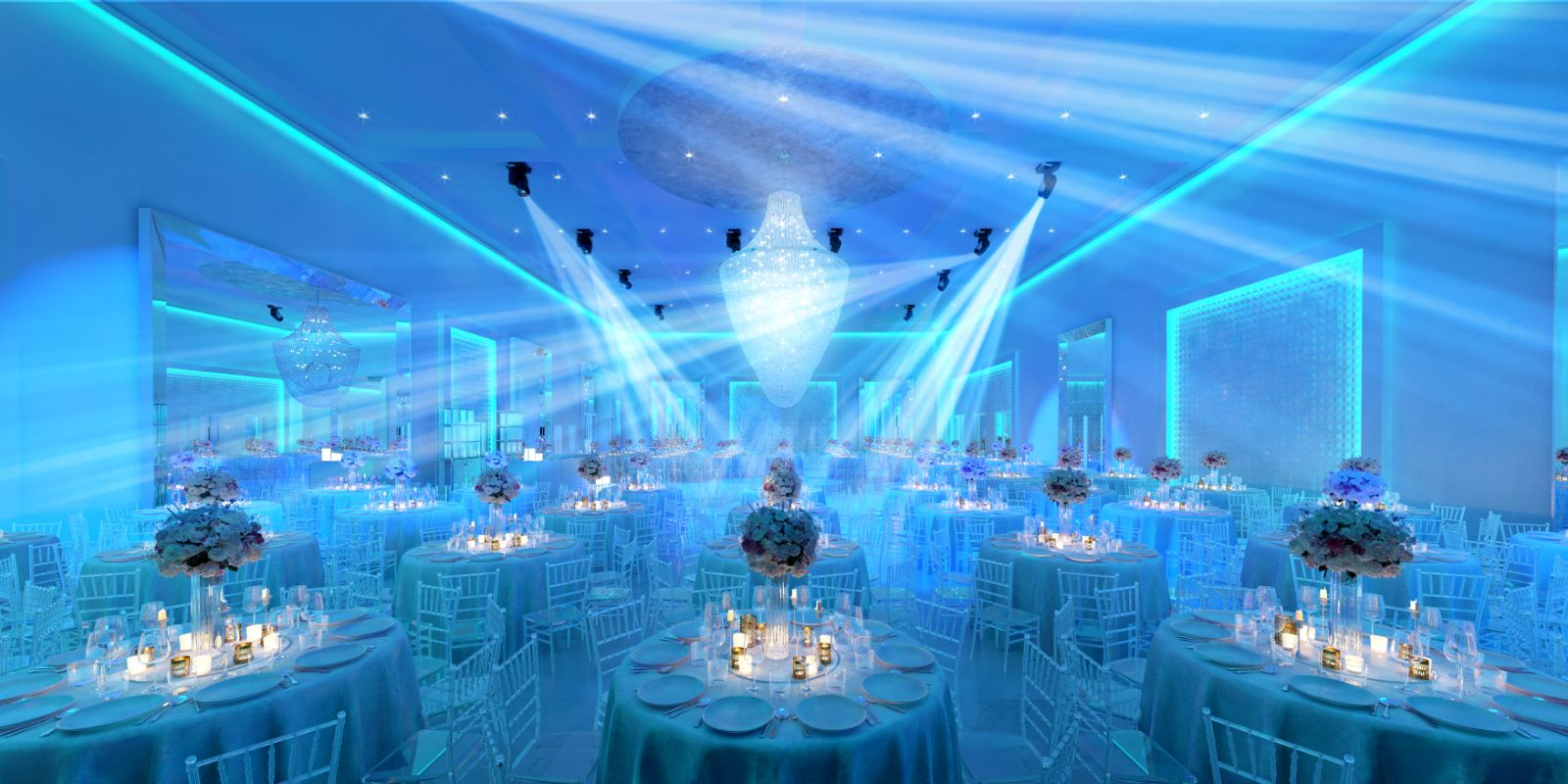 Spotlights, Social Hall, Social Hall Design